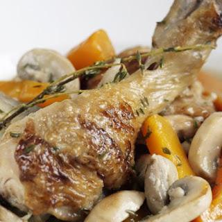 Chicken and Mushroom Stew.