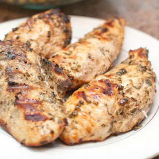 Mediterranean Grilled Chicken Breasts