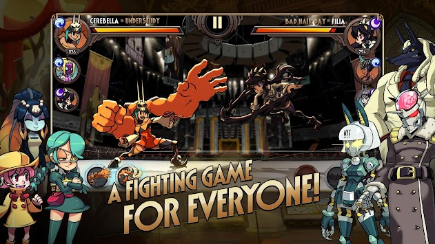Skullgirls APK screenshot thumbnail 2