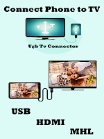 screenshot of USB Connector phone to tv (hdmi/mhl/usb)