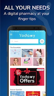Yodawy - Pharmacy Delivery App Screenshot
