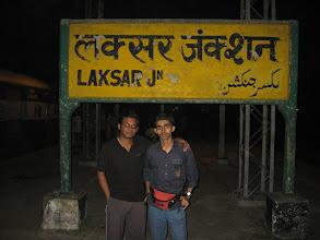 Photo: Laksar junction: at 1: 30 am