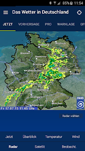 Das Wetter in Deutschland- screenshot thumbnail