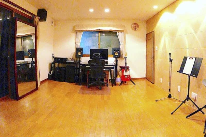 アコメロ音楽教室のボーカルレッスン室