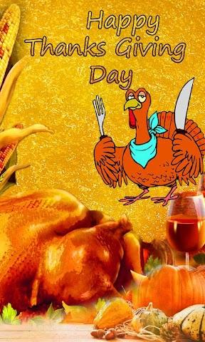 android Thanksgiving Day Wallpaper Screenshot 2