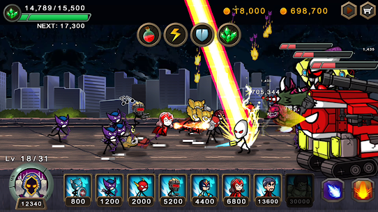 HERO WARS: Super Stickman Defense 9