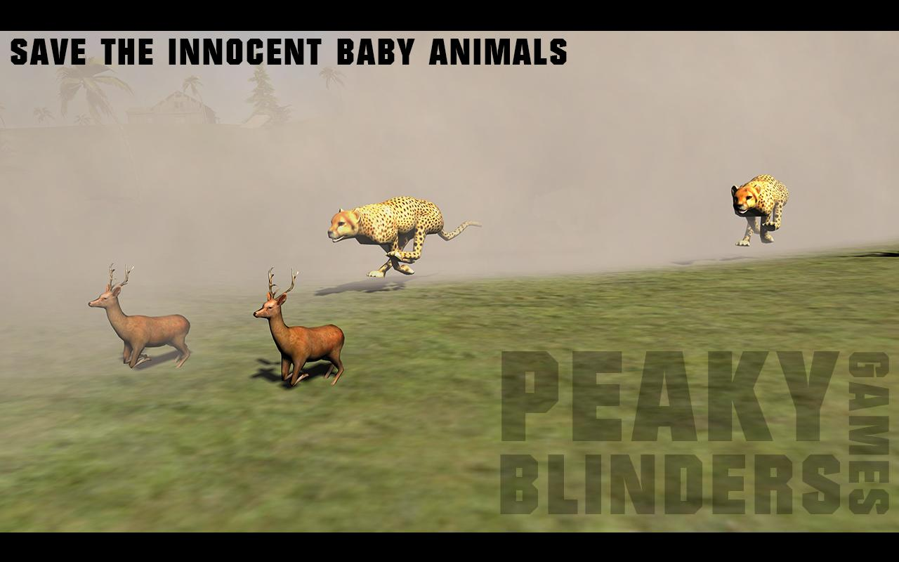 Lion Tiger Baby Animals Sim PB_V1- screenshot