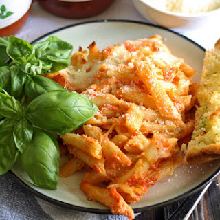 Baked Penne Pasta With Ricotta Cheese Recipes.