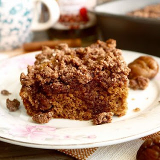 Paleo Chestnut Flour Coffee Cake.