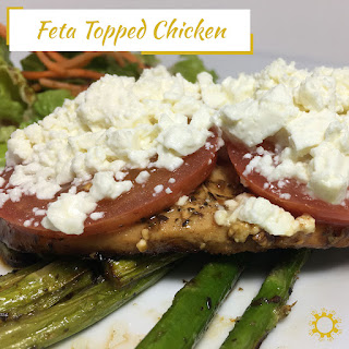 Feta-Topped Chicken.