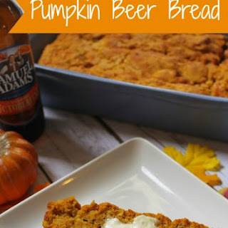 Pumpkin Beer Bread.