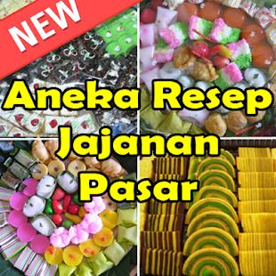 Aneka Resep Jajanan Pasar - náhled