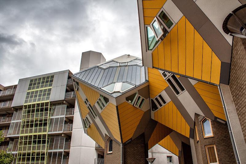 Rotterdam le case cubiche di Gianluca Presto