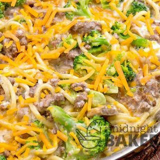One-Skillet Ground Beef Divan.
