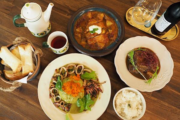 新竹市。Fugootain 富穀沺・老宅質感美店/米食風味料理