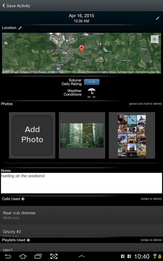 iHunt By Ruger: 750 Hunt Calls- screenshot