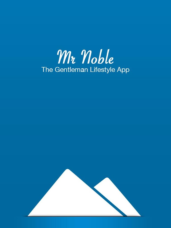 Mr Noble - Men's Style Guide- screenshot