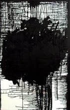 """Photo: Whielki Krasnal """"Untitled/Less and less white districts in Chicago"""". 2007. Oil on canvas, 116 x 81"""