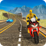 Super Hero Bike Racing Games : Endless 3D Icon