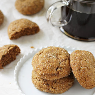 Soft & Chewy Whole Wheat Pumpkin Cookies.