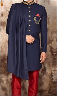 Download Latest Fashion Men Sherwani Photo Suit For PC Windows and Mac apk screenshot 5