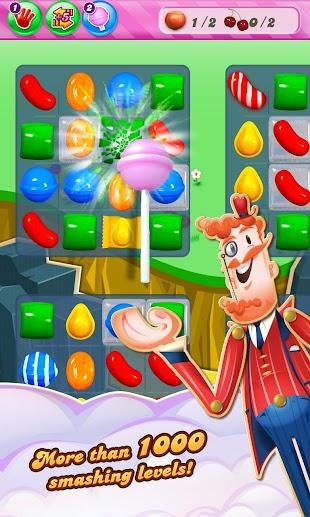 Candy Crush Saga- screenshot thumbnail