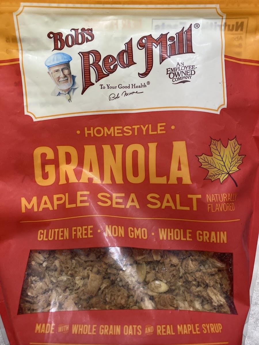 Homestyle Granola-Maple Sea Salt