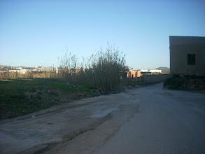 Photo: Antics corrals d'animals. A la dreta, comença el Camí del Calvari.