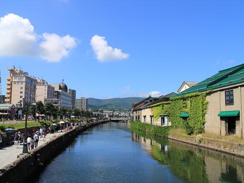 小樽運河 昼間の風景