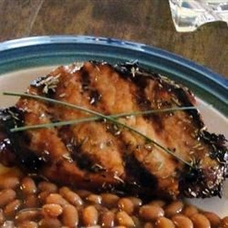 Grilled Rosemary Pork Chops.