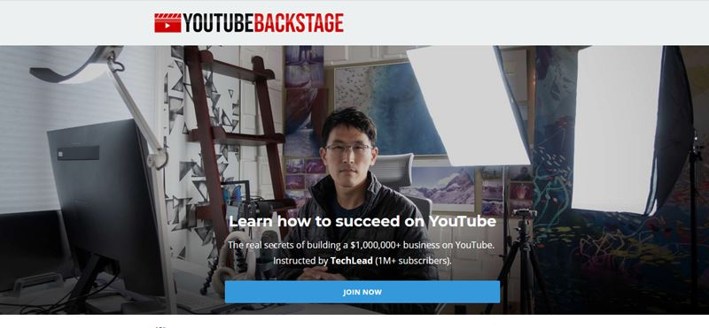 Youtube Backstage - Tech lead