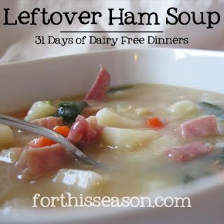 Leftover Ham Soup