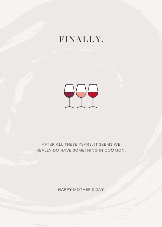 Something In Common - Mother's Day Card Template