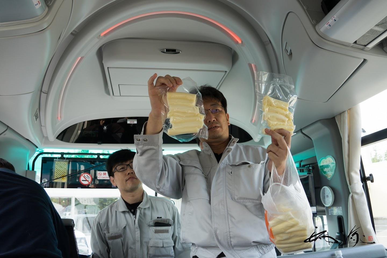 手づくりチーズ完成品!
