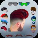 Hairy - Men Hairstyles beard & boys photo editor icon