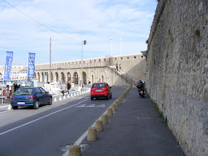 Photo: The ramparts and fortifications date from the Middle Ages, when fortifying such key ports became an important tasks for French kings.
