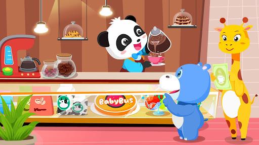 Verão do Bebê Panda: Cafeteria screenshot 4