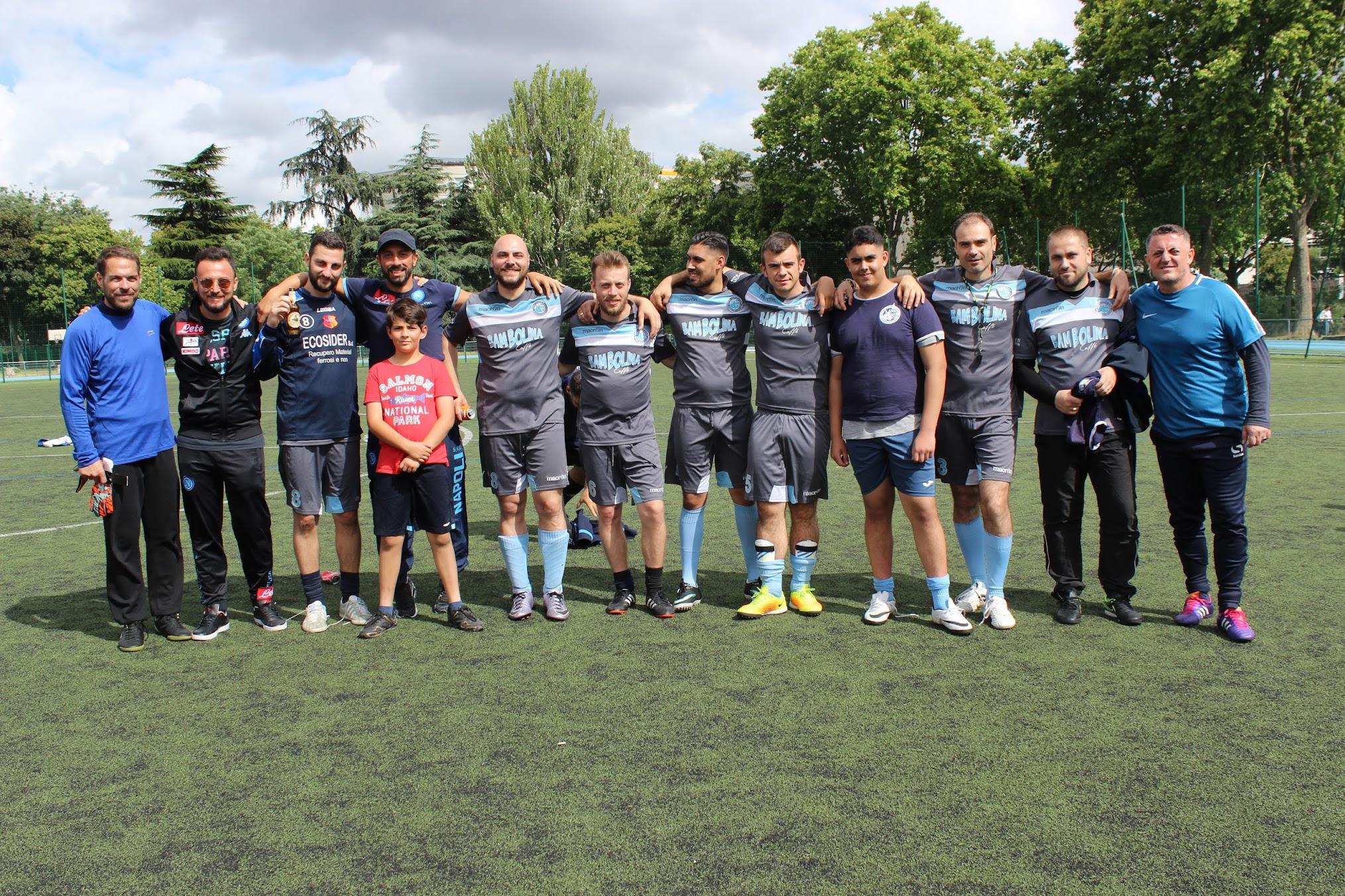 """2/7/2017 la suadra del Paris San Gennar per la IV edizione del trofeo """"Frediano Periano"""""""