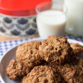 Oatmeal and Raisin Cookies.