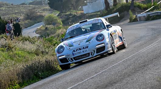 Primera edición del Rallye  Carboneras, triunfo incontestable de Aznar – Galán