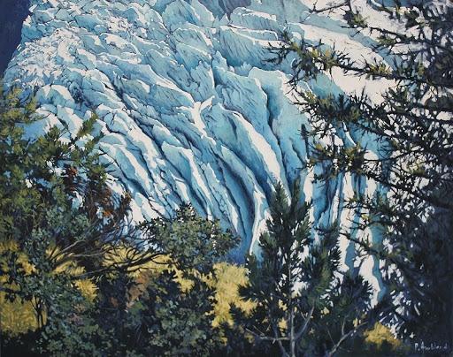 Séracs. oil on canvas, 110x140cm