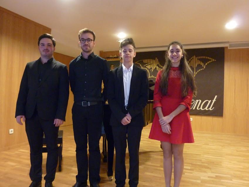 """Fallo del Jurat del XXIII Concurs d´Interpretació al Piano """"Mestre Josep Serrano"""""""
