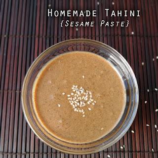 Tahini Sesame Paste Recipes