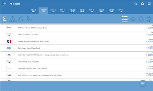Live Sports TV Listings Guide 2.83 Screenshots 10