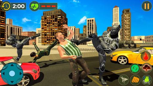 Panther Superhero Rescue Mission Crime City Battle for PC