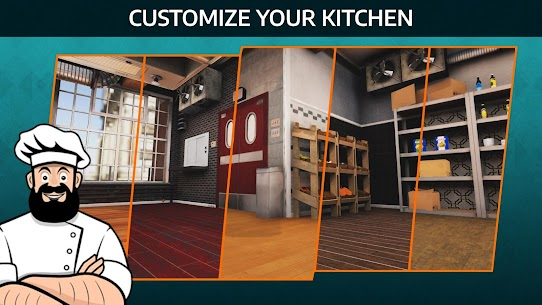 Cooking Simulator Mobile Mod Apk: Kitchen (Unlimited Diamond) 1.54 3
