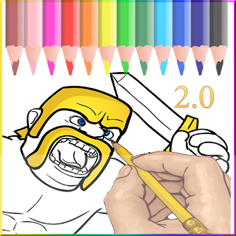 Coloring for Clash of Clans