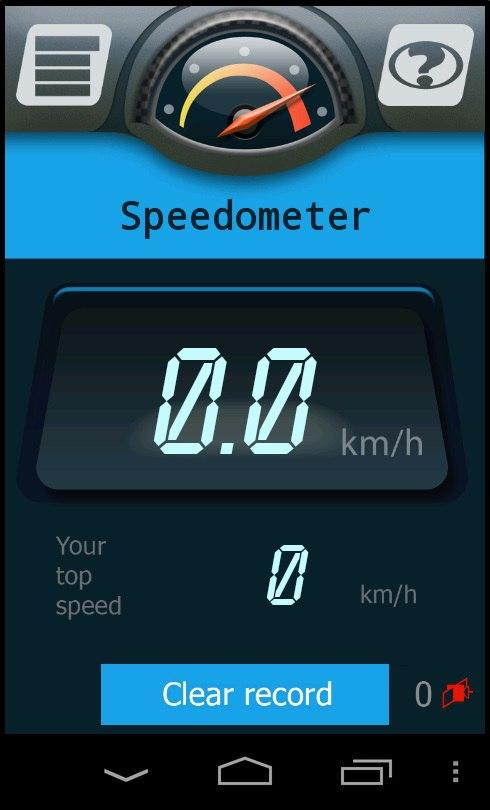 MyCarAcc - test your car speed- screenshot