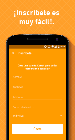 Carrot: captura de pantalla
