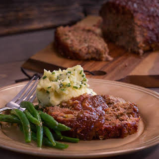 Beef and Bacon Meatloaf.